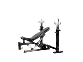 POWERTEC WB-OB WORKBENCH OLYMPIC BENCH, Healthy Body Corp. Puerto Rico