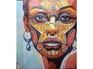 """""""Femafricanus"""" , PR ART COLLECTION Puerto Rico"""