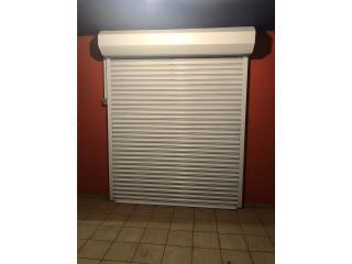 Tormenteras Rolling de metal y aluminio, ROLLING SERVICE DOOR Puerto Rico