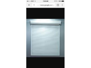 Rolling shutters de aluminio, VIRTUAL ACCESS LLC. Puerto Rico