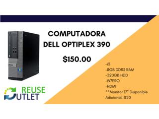 Dell Optiplex 390 , Reuse Outlet Store Puerto Rico