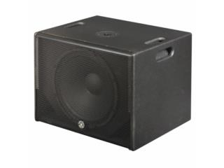Sub Bajo Amplificado 12'600 watts, Music & Technology Puerto Rico