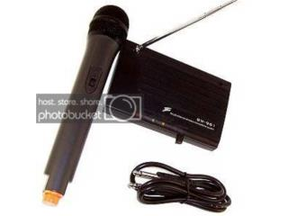 Microfono Inalambrico 150 pies (Vhf), Music & Technology Puerto Rico