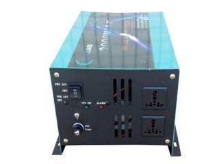 12000W Peak 3000W Pure Sine Inverter DC 12V , Sigma Distributors PR Puerto Rico