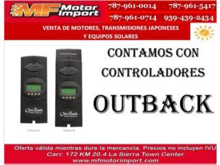 CONTROLADORES OUTBACK 60 & 80AH, Mf motor import Puerto Rico