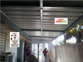 TECHOS CON SOLDADURA, Diseño Tropical Puerto Rico