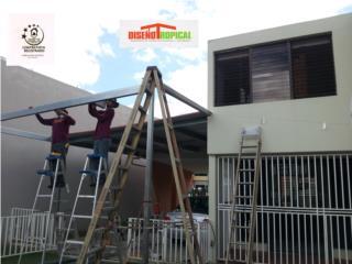 TERRAZAS GALVALUME, Diseño Tropical Puerto Rico
