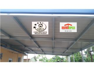 TECHO GAZEBO 4 AGUAS, Diseño Tropical Puerto Rico