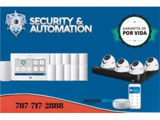 Sistema de Seguridad Equipos Incluidos , Security & Automation  Puerto Rico