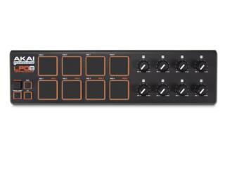 AKAI PROFESSIONAL LPD8 USB-MIDI PAD CONTROLLE, MICHEO MUSIC Puerto Rico