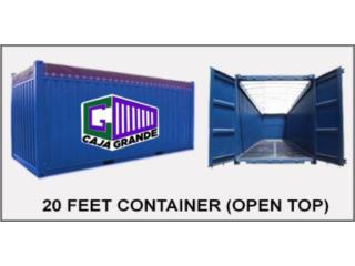20' Open Top Trailers on SALE 20% OFF, Caja Grande Puerto Rico