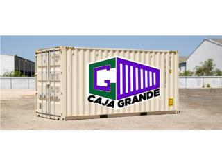 40' Standard Containers at 20% OFF, Caja Grande Puerto Rico