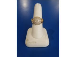 Lady's Gold Ring: 3.3D 14K, Ring Size: 8, La Familia Casa de Empeño y Joyería-Mayagüez 1 Puerto Rico