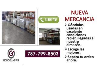 Gondolas Usadas En Perfectas Condiciones , Gondolas PR Puerto Rico
