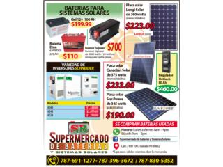 Inversores Schneider 4048, Supermercado de Baterias y Sistemas Solares Puerto Rico