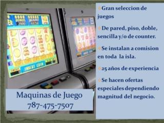 Carolina Puerto Rico Acondicionadores Aire - Inverter y Pared, Maquinas De Juego A Comicion