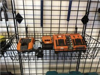 Baterias & Cargadores RYOBI WORX RIDGID, DE DIEGO RENTAL Puerto Rico