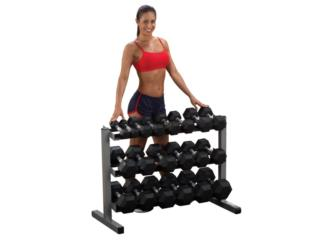 BODY SOLID 3 TIER DUMBBELL RACK GDR363, Healthy Body Corp. Puerto Rico