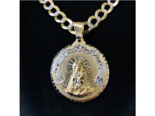 Medalla Virgen en Oro 10kt , CashEx Puerto Rico