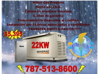 Generador 22KW, 3 WAY SOLUTIONS Puerto Rico