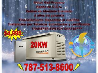 Generador 20KW, 3 WAY SOLUTIONS Puerto Rico