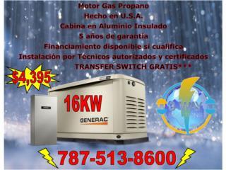 Aguadilla Puerto Rico Muebles Cuartos, Generador 16KW