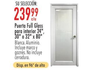 San Juan-Santurce Puerto Rico Herramientas, Puerta full glass