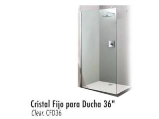 ESPECIAL BLACK Cristal Fijo para ducha, Ferreteria Ace Berrios Puerto Rico