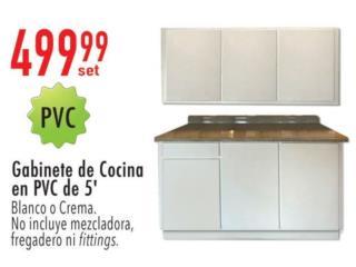 Gabinete de cocina Pvc, Ferreteria Ace Berrios Puerto Rico