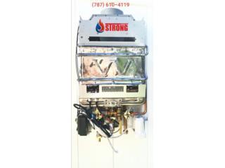 Piezas Calentador  de Agua (Gas), Strong Corp Puerto Rico