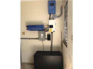 Kit Solar OFF-GRID 5k en baterías, PowerComm, Inc 7873900191 Puerto Rico