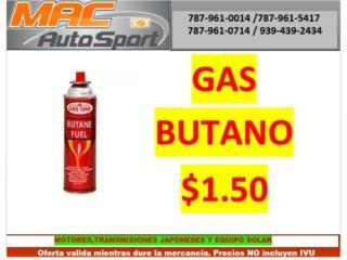 GAS BUTANO $1.50, Mf motor import Puerto Rico