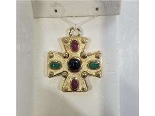 Gold Cross Charm: 6.9D 14K, La Familia Casa de Empeño y Joyería-Mayagüez 1 Puerto Rico