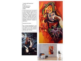 ¨Cuentos de Pasionarias¨. Francisco Rodón, PR ART COLLECTION Puerto Rico