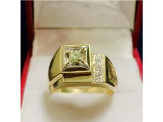 Anillo de Hombre en Oro 14K con Diamante, CashEx Puerto Rico