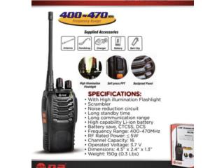 WALKIE TALKIE GRAN ALCANCE, Music & Technology Puerto Rico
