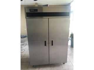 NEVERA COMERCIAL STAINLESS STEEL, DG Equipment Puerto Rico