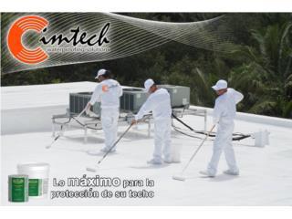 Sellador de techos: Elasto-Deck 5001, CIM CARIBBEAN Puerto Rico