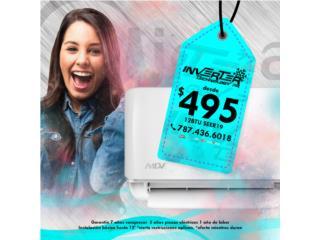 INVERTER 12BTU 19 SEER 474.00, Inverter Technology PR Puerto Rico