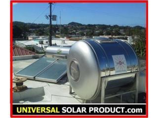 Calentador UNIVERSAL® y CISTERNA | Bono $900, UNIVERSAL SOLAR PRODUCTS, INC. Desde 1965 en PR. Puerto Rico