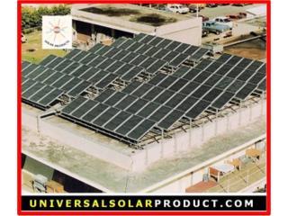 CALENTADOR INDUSTRIAL SOLAR - BLUE FOREST, UNIVERSAL SOLAR PRODUCTS, INC. Desde 1965 en PR. Puerto Rico