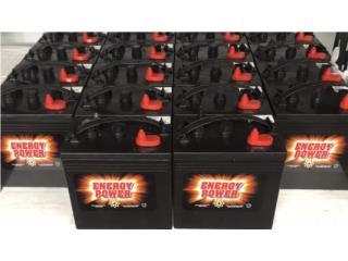 Bateria Energy Power de 240ah @ 6V, MULTI BATTERIES & FORKLIFT, CORP. Puerto Rico