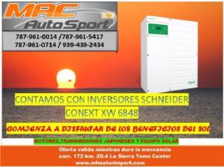 INVERSOR SCHNEIDER 6848, Mf motor import Puerto Rico