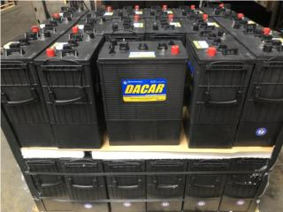 Baterías DACAR 430ah @ 6Vdc - Sist Solar, MULTI BATTERIES & FORKLIFT, CORP. Puerto Rico