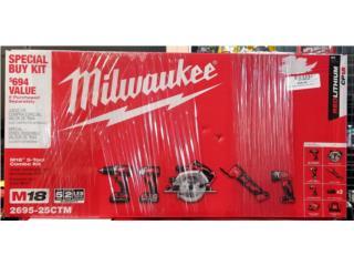 Milwaukee M18 set completamente nuevo!!!, La Familia Casa de Empeño y Joyería-Mayagüez 1 Puerto Rico