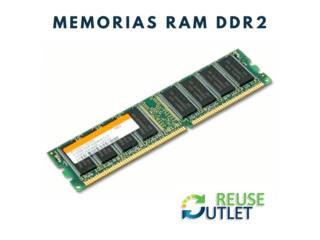 Variedad en Memorias RAM , Reuse Outlet Store Puerto Rico
