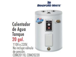 CALENTADOR DE AGUA TANQUE DE 20 GAL, Ferreteria Ace Berrios Puerto Rico