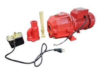 Bomba Agua de poso (Deep Pump)  Comercial, Sigma Distributors PR Puerto Rico