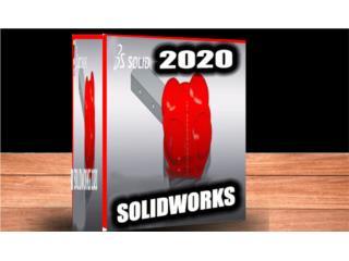 SOLIDWORKS 2020 ((( MODELA EN 3D ))), @ USUARIO PREMIUM 100 % Puerto Rico