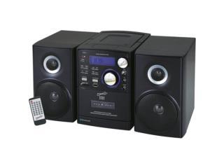 MINI COMPONENTE AM FM CD PLAYER SC807, IB STORE ibstorepr.com Se atiende solo por cita Puerto Rico